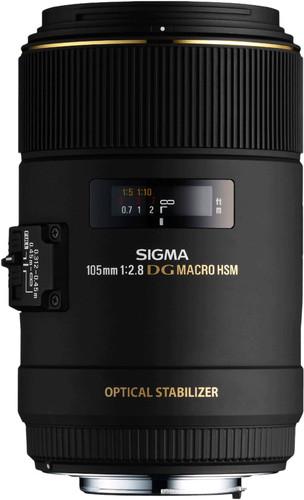 Sigma 105 mm f/2.8 EX DG Macro OS HSM Canon Main Image