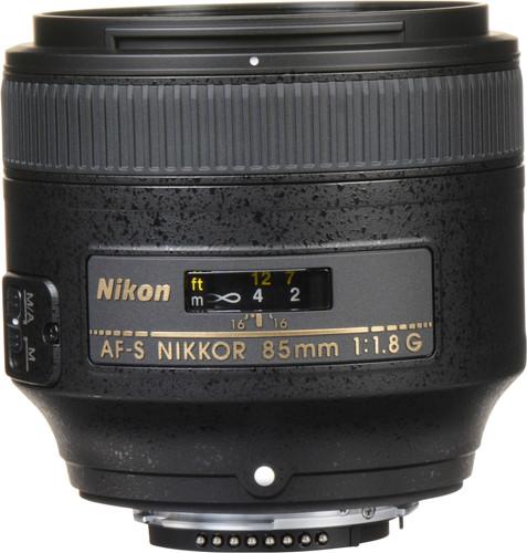 Nikon AF-S 85 mm f/1.8 G NIKKOR Main Image