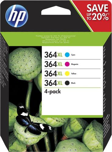 HP 364XL Combo Pack 4-Kleuren (N9J74AE) Main Image