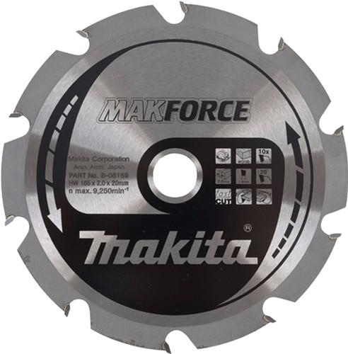 Makita Lame de scie HM bois 190x30x2mm 12T B-08224 Main Image