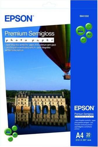 Epson Premium Semigloss Photo paper 20 sheets (A4) Main Image