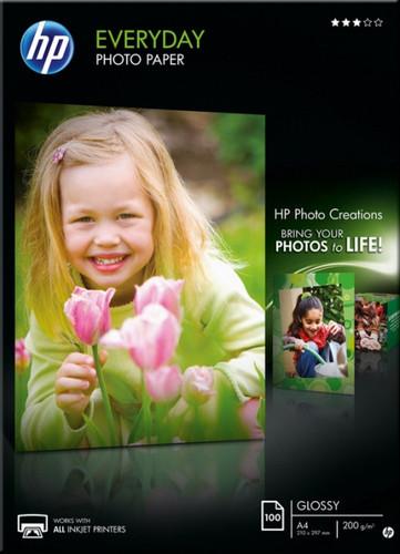 HP Everyday Glossy Photo Paper 100 sheets (A4) Main Image