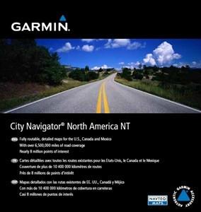 Garmin City Navigator NT Amérique du Nord et Mexique Micro SD Main Image