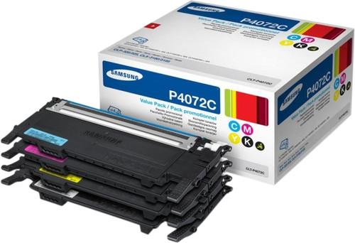 Samsung CLT-P4072C Toner Cartridges Combo Pack Main Image