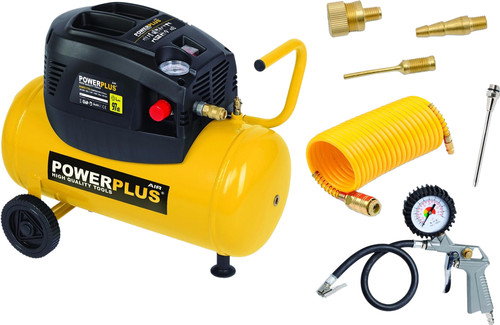 Powerplus POWX1730 + 6-part air tool set Main Image
