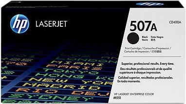 HP 507A LaserJet Toner Black (CE400A) Main Image