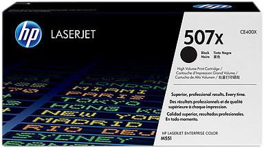 HP 507X LaserJet Toner Black XL (CE400X) Main Image
