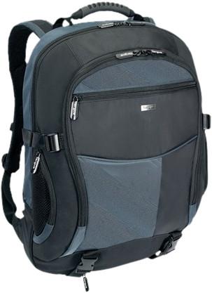 "Targus Rugzak XL 17"" Black/Blue 28 L Main Image"
