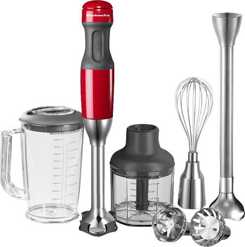 KitchenAid Ensemble Mixeur plongeant Rouge empire Main Image