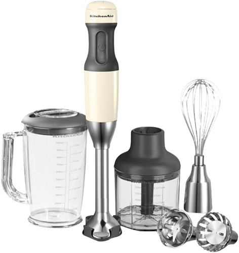 KitchenAid Ensemble Mixeur Plongeant Blanc Amande Main Image