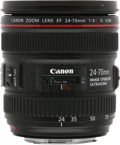 Canon EF 24-70mm f/4L IS USM Main Image