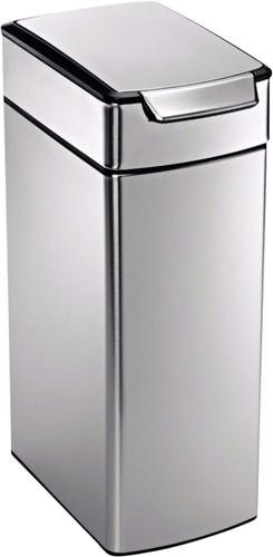 Simplehuman Rectangular Slim Touch Bar 40 Liter Main Image