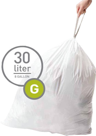 Simplehuman Waste bags Code G - 30 Liter (20 pieces) Main Image