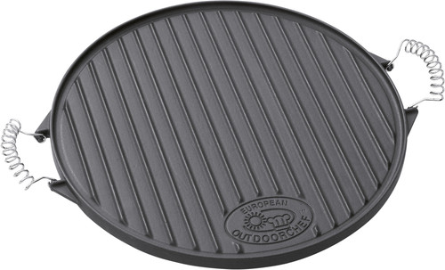 Outdoorchef Cast iron grill plate Plancha Ø 39 cm Main Image