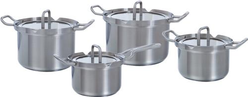 BK Q-linair Master Verre Ensemble de 4 casseroles Main Image