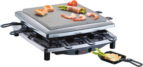 Steba Steengrill gourmet raclette RC3 Plus Chrome Main Image