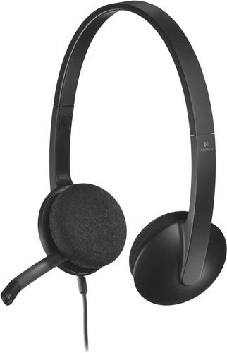 Logitech H340 Stereo USB-A Headset Main Image