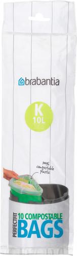 Brabantia Compostable Garbage Bags Code K - 10 Liter (10 pieces) Main Image