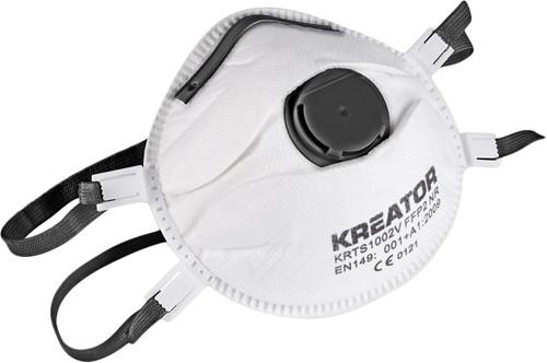 Kreator KRTS1003V Masque anti-poussière FFP3 Valve (2x) Main Image