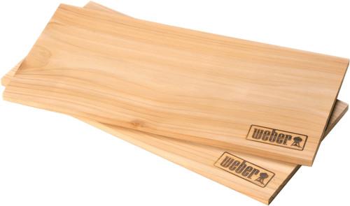 Weber Cedar Wooden Smoking Board Large (2 pieces) Main Image