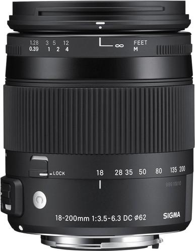 Sigma EF-S 18-200mm f/3.5-6.3 DC Macro OS HSM C Canon Main Image