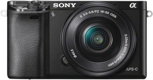 Sony Alpha A6000 Zwart + PZ 16-50mm OSS Main Image