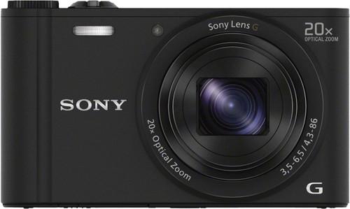 Sony CyberShot DSC-WX350 Black Main Image