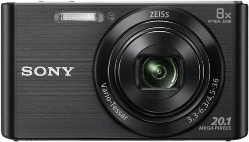 Sony CyberShot DSC-W830 Noir Main Image