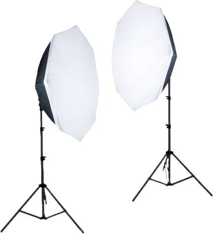 Falcon Eyes Kit d'éclairage de lumière du jour LHDK-2B455 Main Image