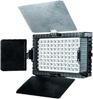 Falcon Eyes LED lamp set DV-96V-K1 on battery Main Image