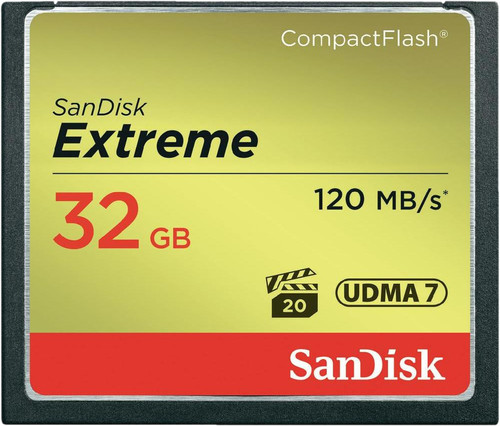 Sandisk CF Extreme 32GB 120MB/s Main Image