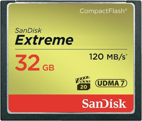 Sandisk CF Extreme 32 Go 120 Mo/s Main Image