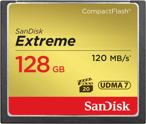 Sandisk CF Extreme 128GB 120MB/s Main Image