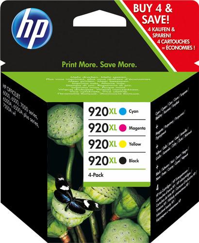 HP 920XL Pack Combo de 4 Couleurs (C2N92AE) Main Image