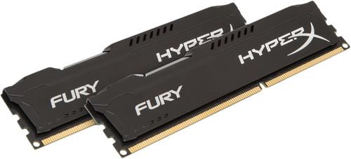 Kingston HyperX FURY 16 Go DIMM DDR3-1866 Noir 2 x 8 Go Main Image