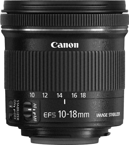 Canon EF-S 10-18 mm f/4,5-5,6 IS STM Main Image