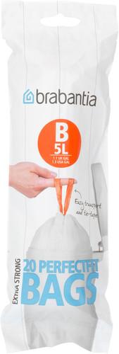 Brabantia Waste Bag Code B - 5 Liter (20 pieces) Main Image