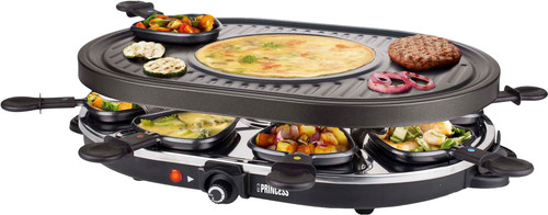 Princess Raclette 8 Oval Grill Party 162700 Main Image