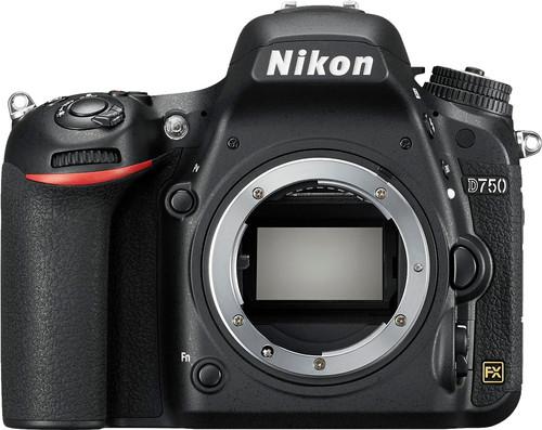 Nikon D750 Boitier Main Image