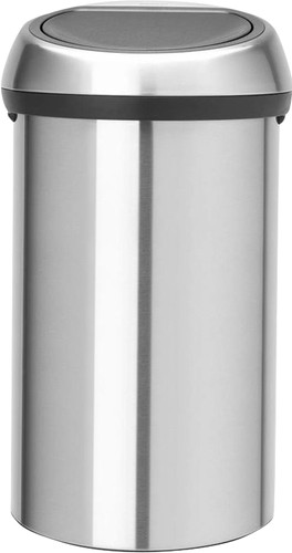 Brabantia Touch Bin 60 Liter Matt Steel Fingerprint Proof Main Image