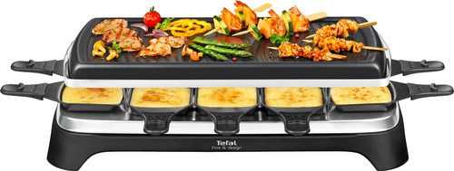 Tefal Raclette & Grill Inox & Design RE458812 Main Image