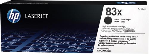 HP 83X Toner Noir (Grande Capacité) Main Image
