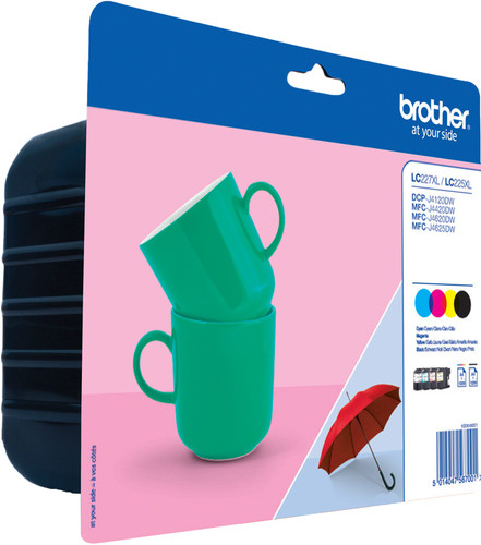 Brother LC-227XLVAL 4-Color Pack XL Main Image