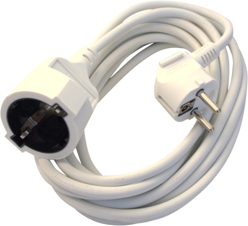 Deltac Extension Cable 230V White 5 Meters Main Image