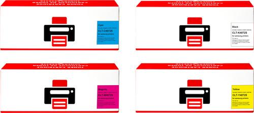 Pixeljet CLT-P4072C 4-Kleuren Pack voor Samsung printers Main Image