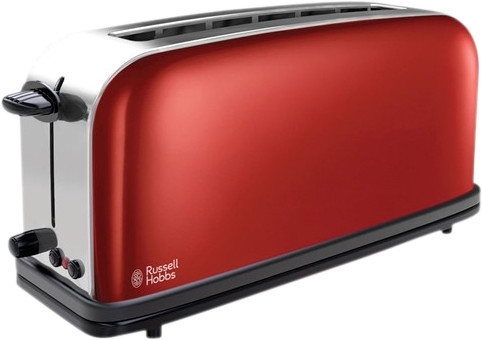 Russell Hobbs Colours Long Slot Rood Main Image