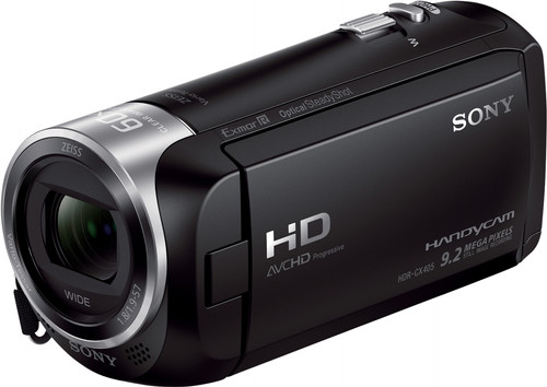 Sony HDR-CX405 Black Main Image