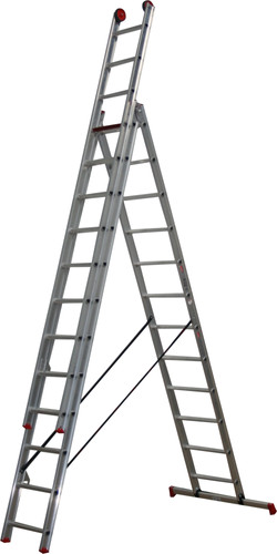 Altrex All Round 3-Part Reform Ladder AR 3080 3x12 Main Image