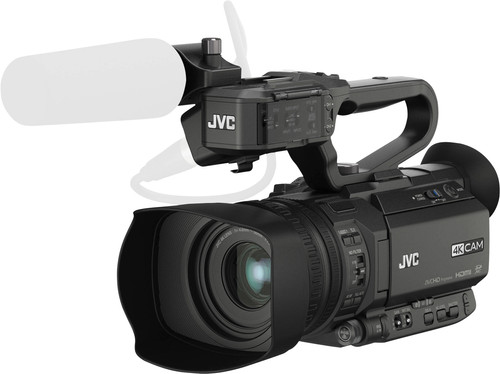 JVC GY-HM170E + poignée Main Image