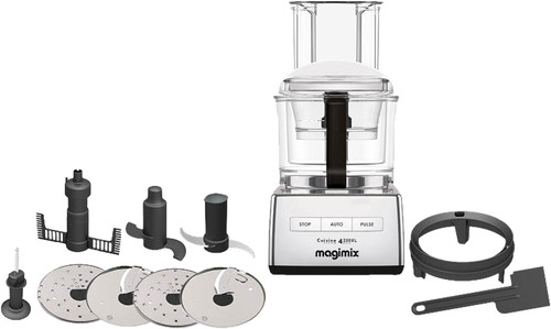 Magimix Cuisine Systeme 4200 XL Mat Chrome Main Image